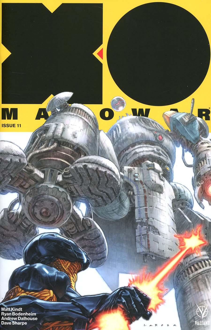 X-O Manowar Vol 4 #11 Cover A Regular Lewis Larosa Cover