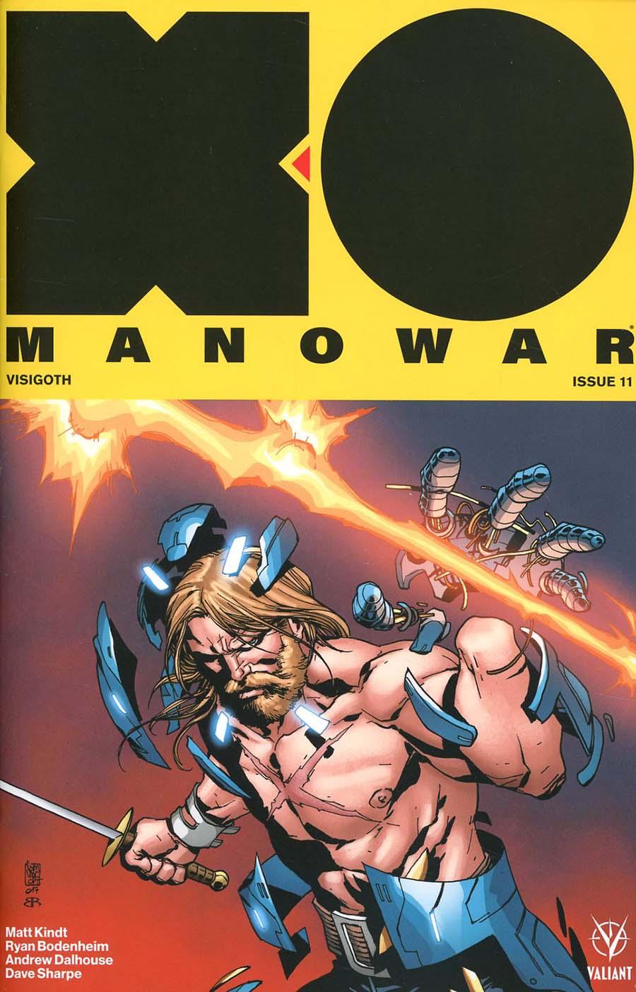 X-O Manowar Vol 4 #11 Cover B Variant Giuseppe Camuncoli Cover