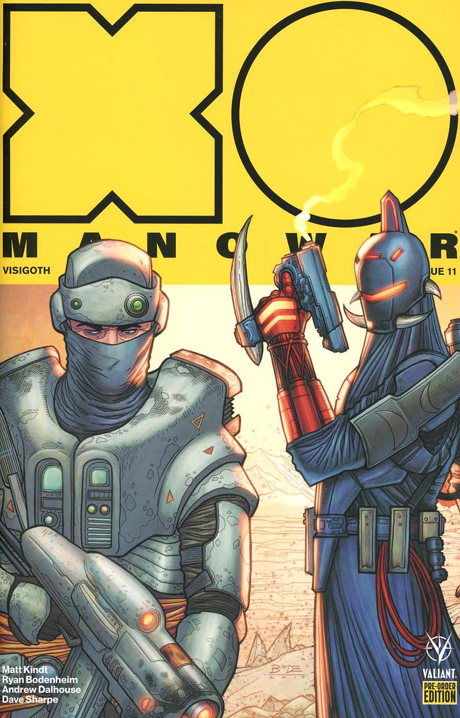 X-O Manowar Vol 4 #11 Cover C Variant Renato Guedes Cover