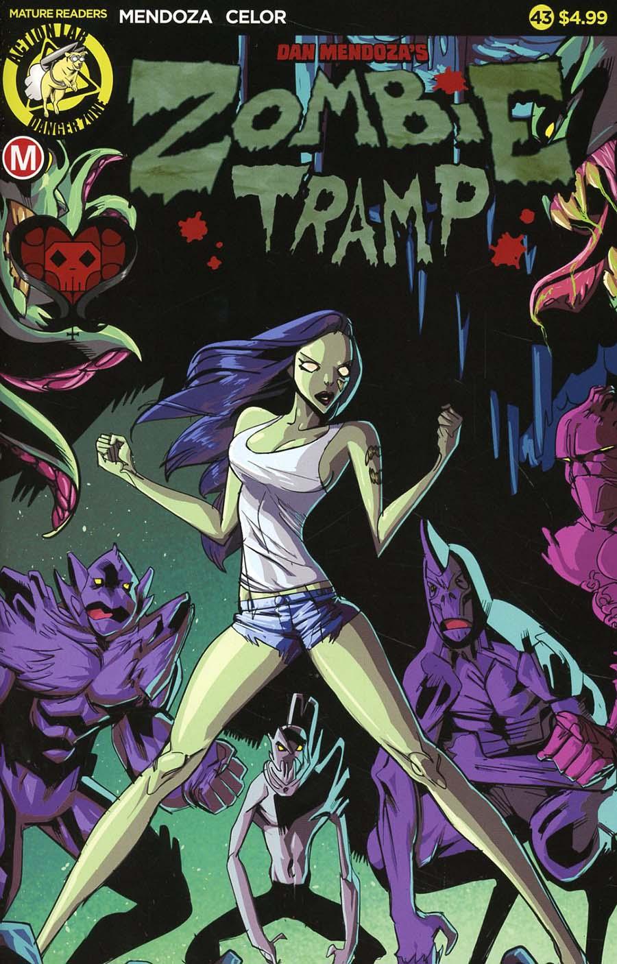 Zombie Tramp Vol 2 #43 Cover A Regular Celor Cover