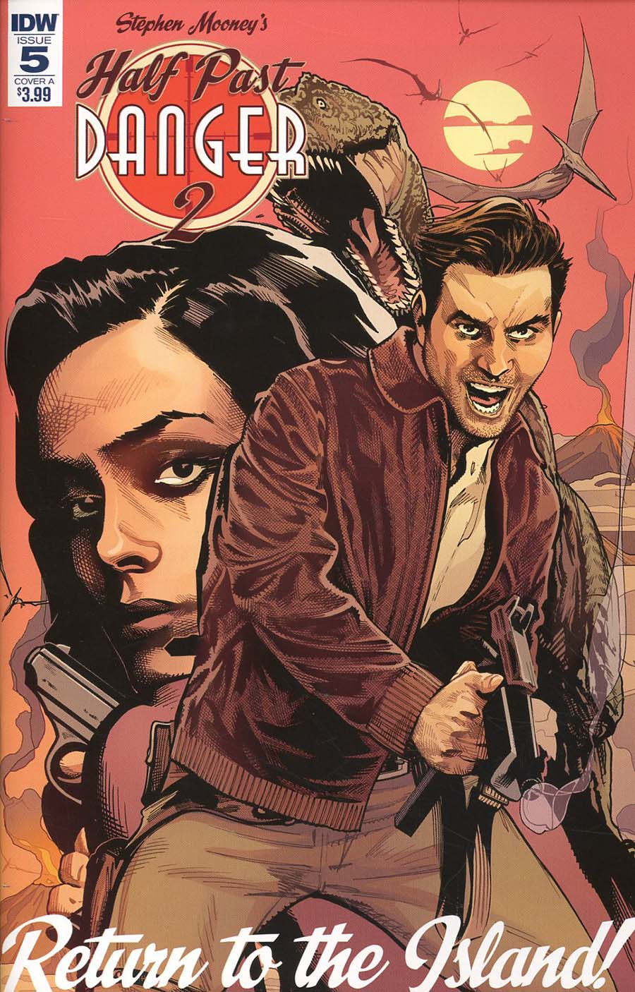 Half Past Danger II Dead To Reichs #5 Cover A Regular Stephen Mooney Cover
