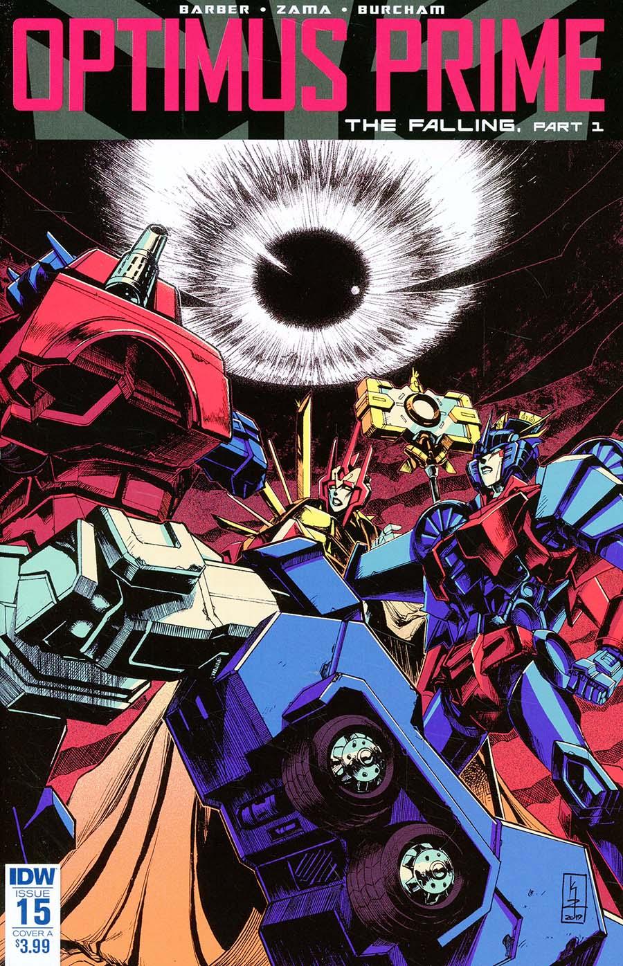Optimus Prime #15 Cover A Regular Kei Zama Cover