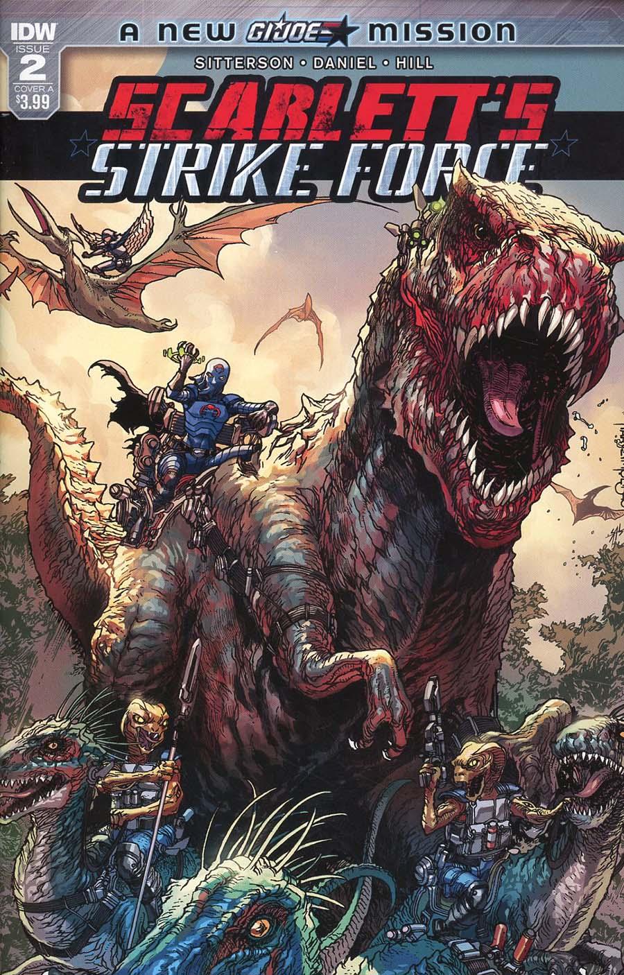 Scarletts Strike Force #2 Cover A Regular Harvey Tolibao Cover