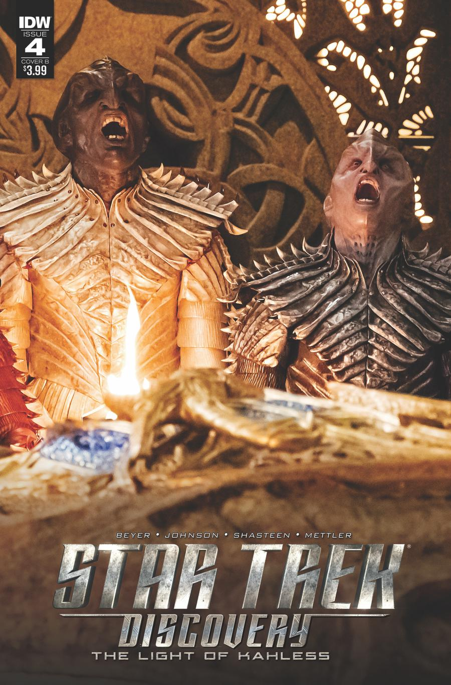 Star Trek Discovery #4 Cover B Variant Photo Cover