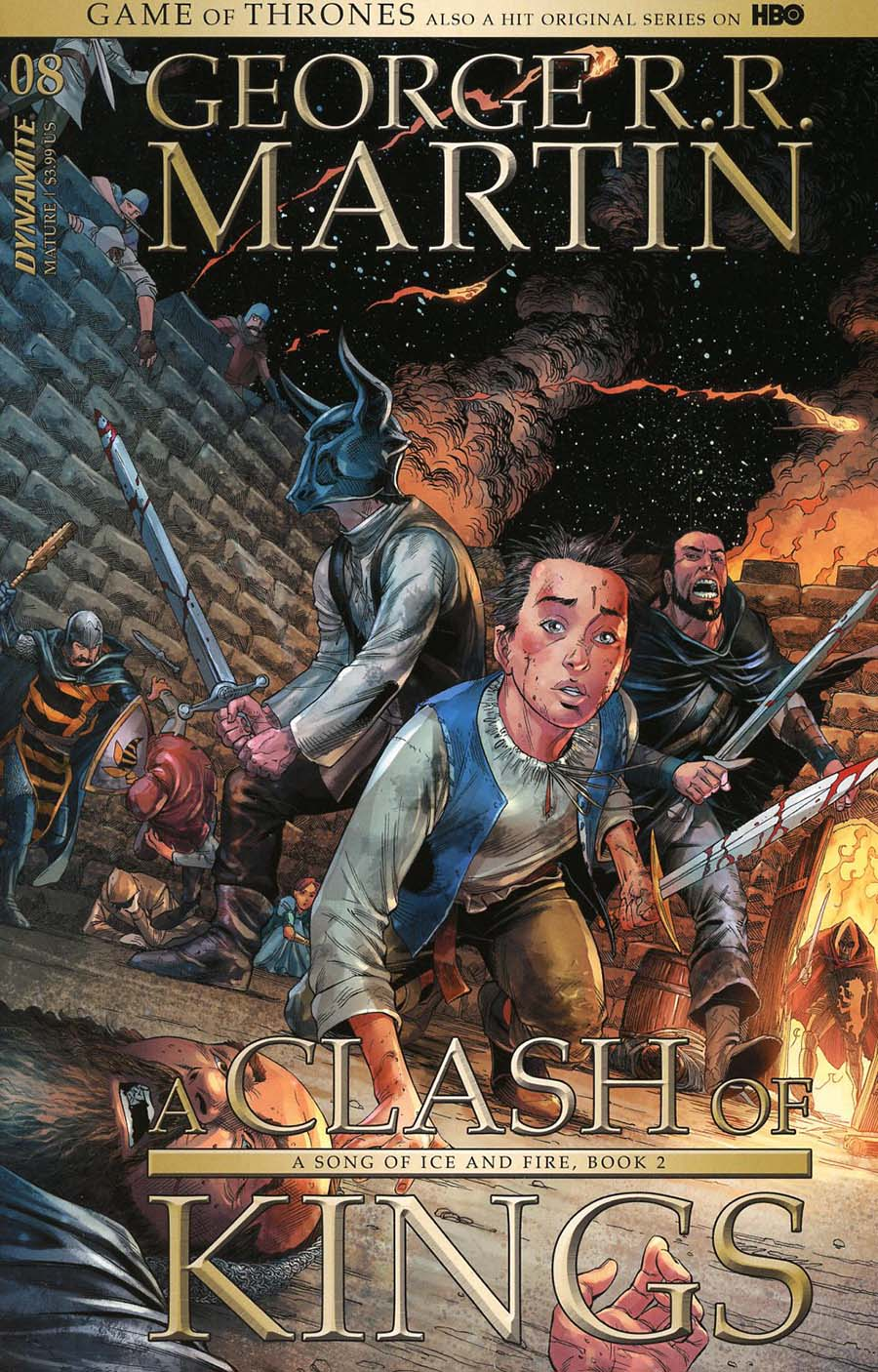 Game Of Thrones Clash Of Kings #8 Cover A Regular Mike Miller Cover
