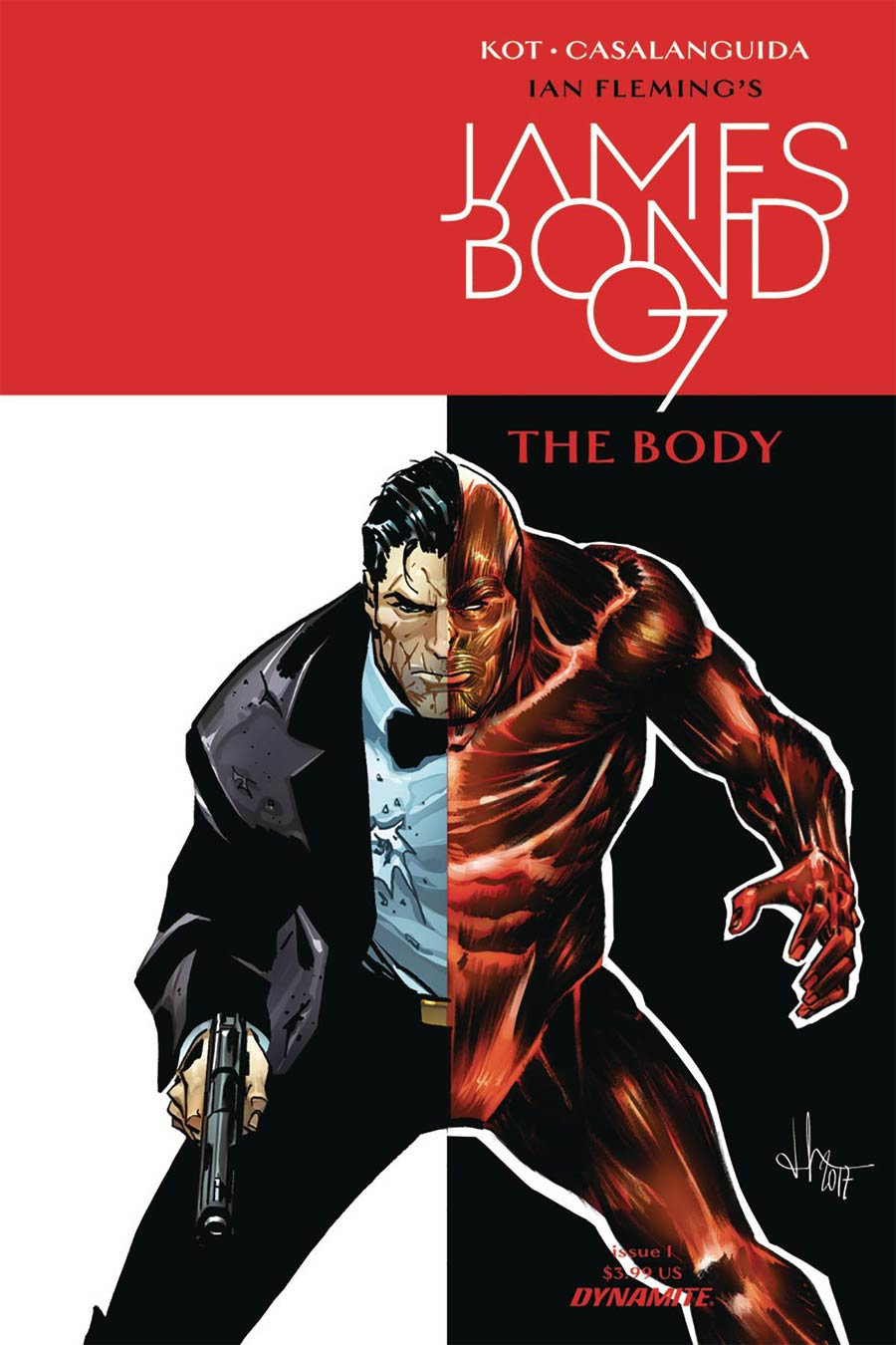 James Bond The Body #1 Cover A Regular Luca Casalanguida Cover