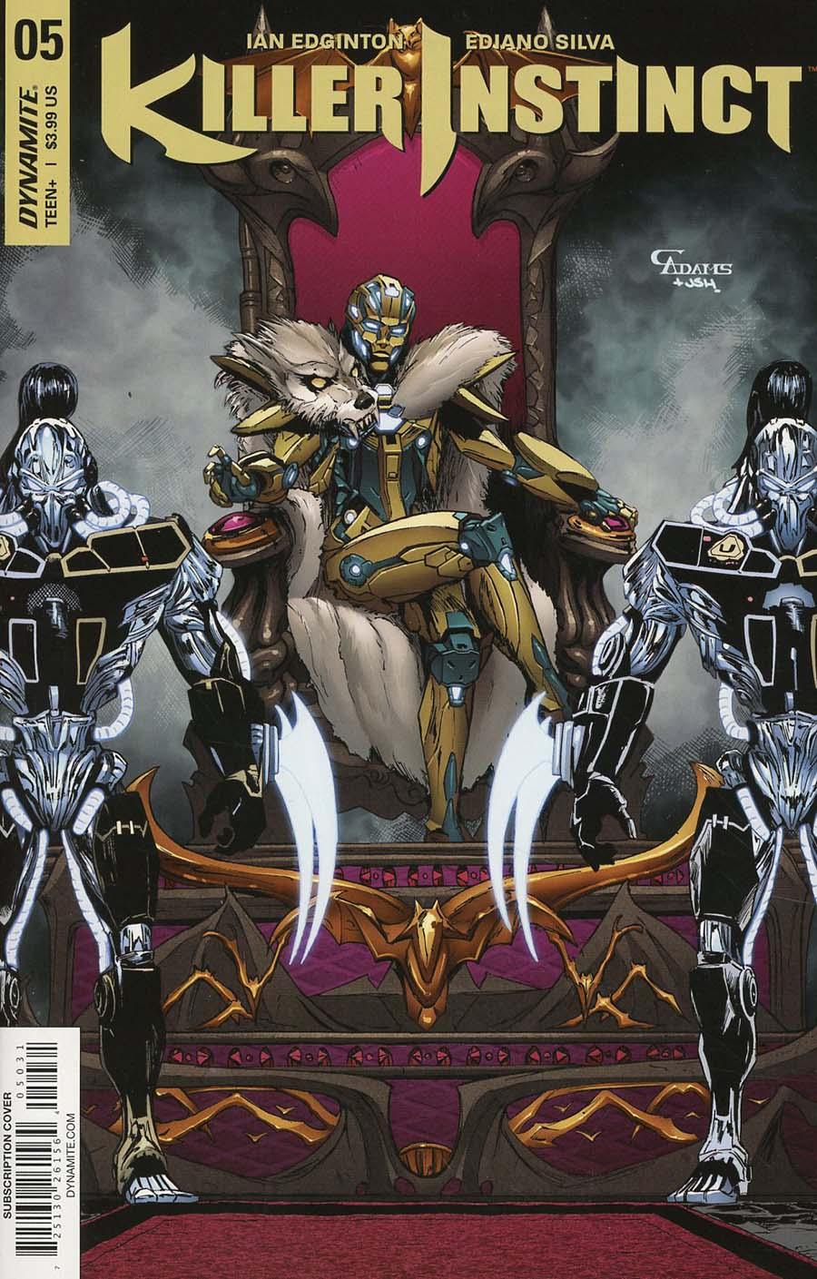 Killer Instinct Vol 2 #5 Cover C Variant Cam Adams Subscription Cover