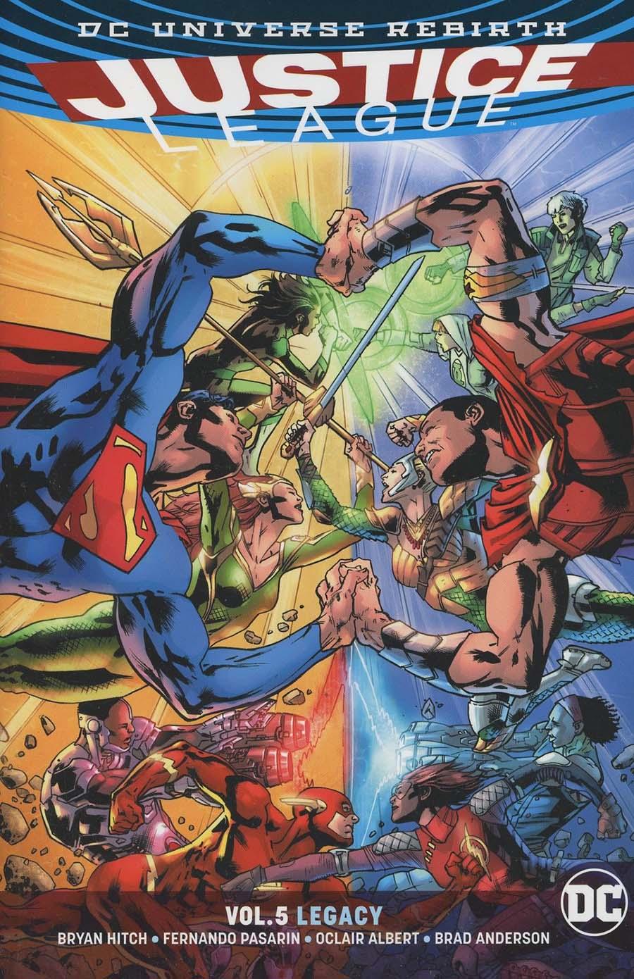 Justice League (Rebirth) Vol 5 Legacy TP