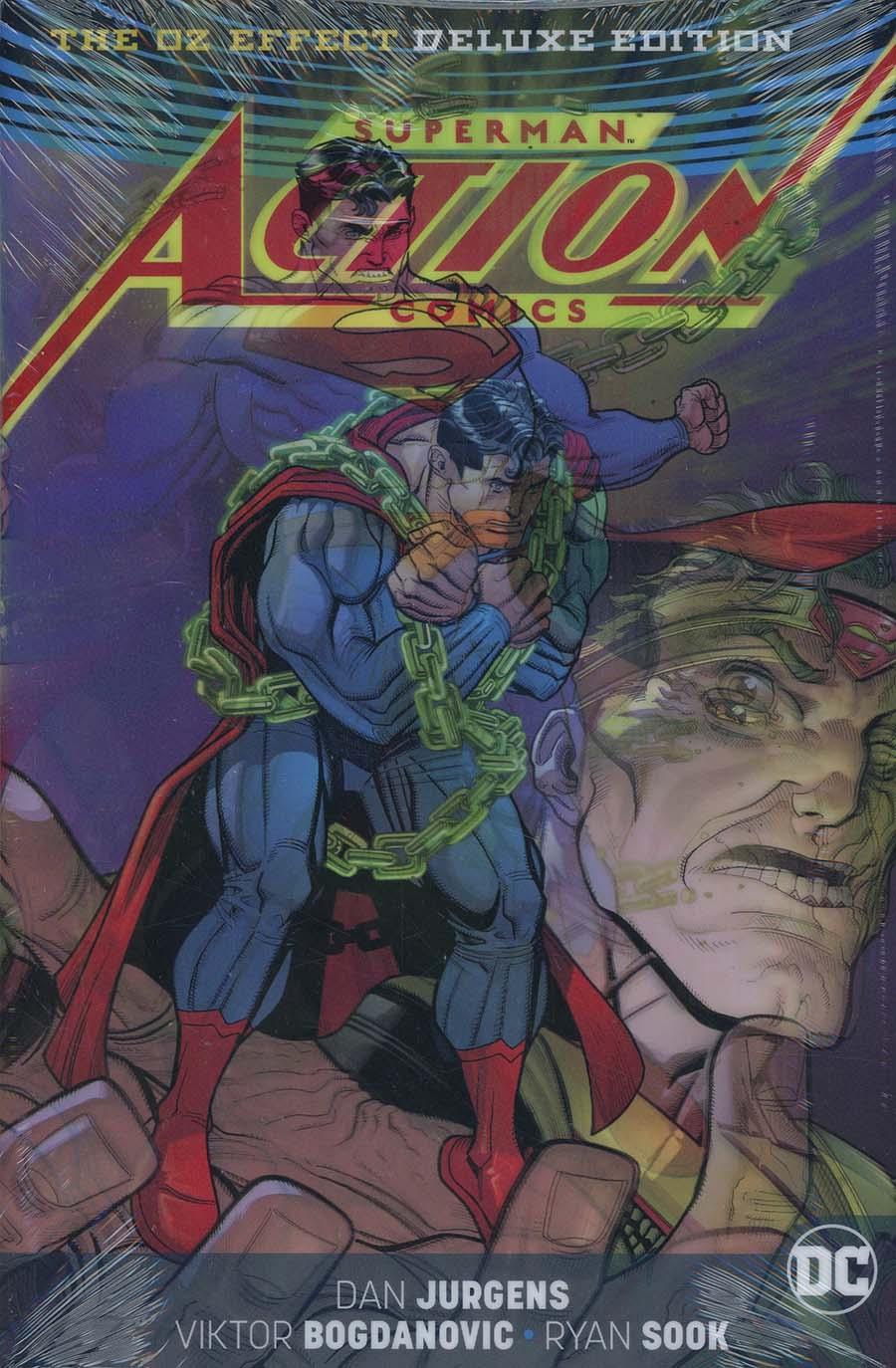 Superman Action Comics Oz Effect Deluxe Edition HC (Rebirth)