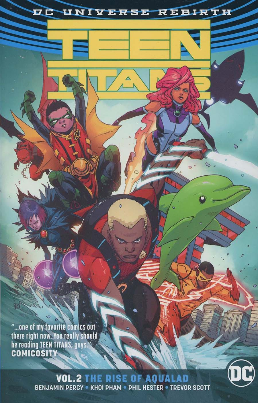 Teen Titans (Rebirth) Vol 2 The Rise Of Aqualad TP
