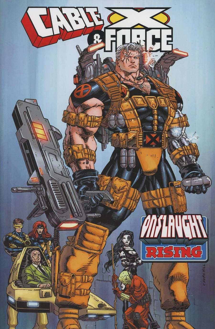 Cable & X-Force Onslaught Rising TP