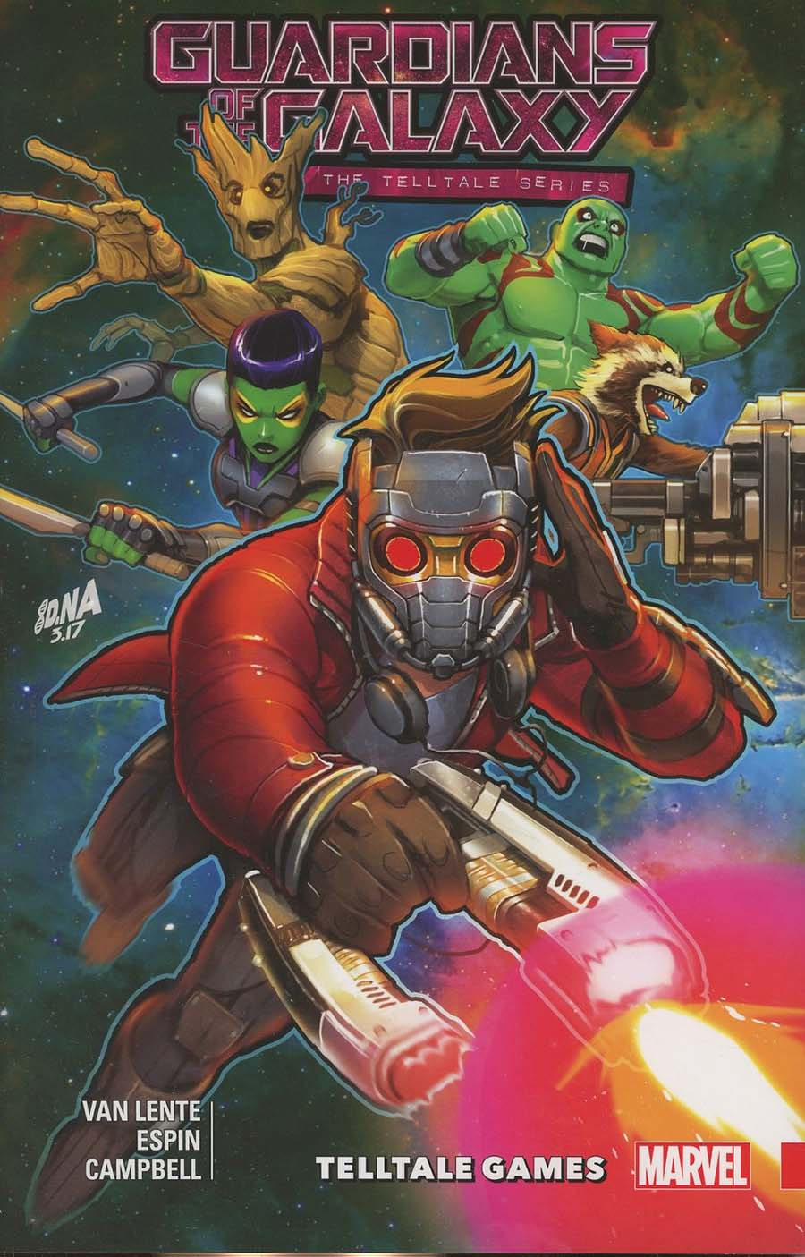 Guardians Of The Galaxy Telltale Games TP