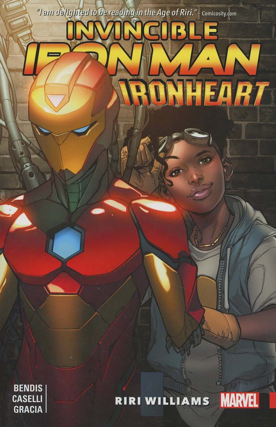 Invincible Iron Man Ironheart Vol 1 Riri Williams TP