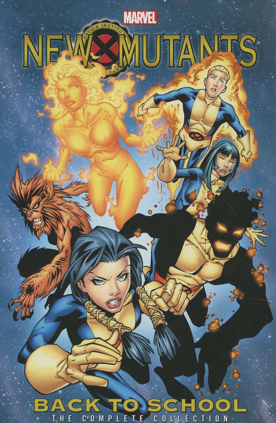 New Mutants Back To School Complete Collection TP