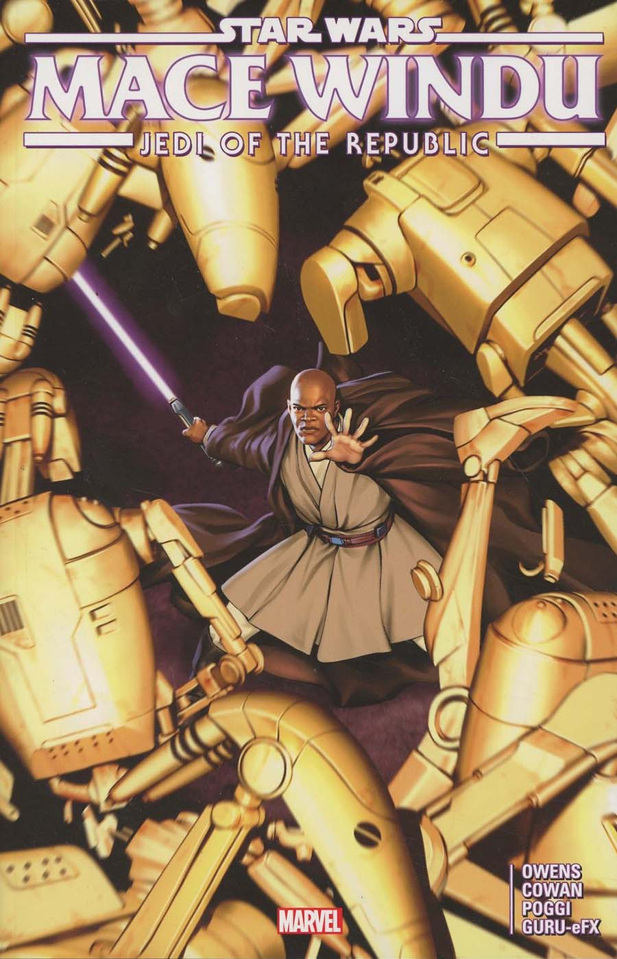 Star Wars Jedi Of The Republic Mace Windu TP