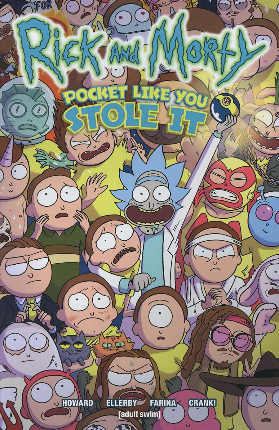 Rick And Morty Pocket Like You Stole It TP