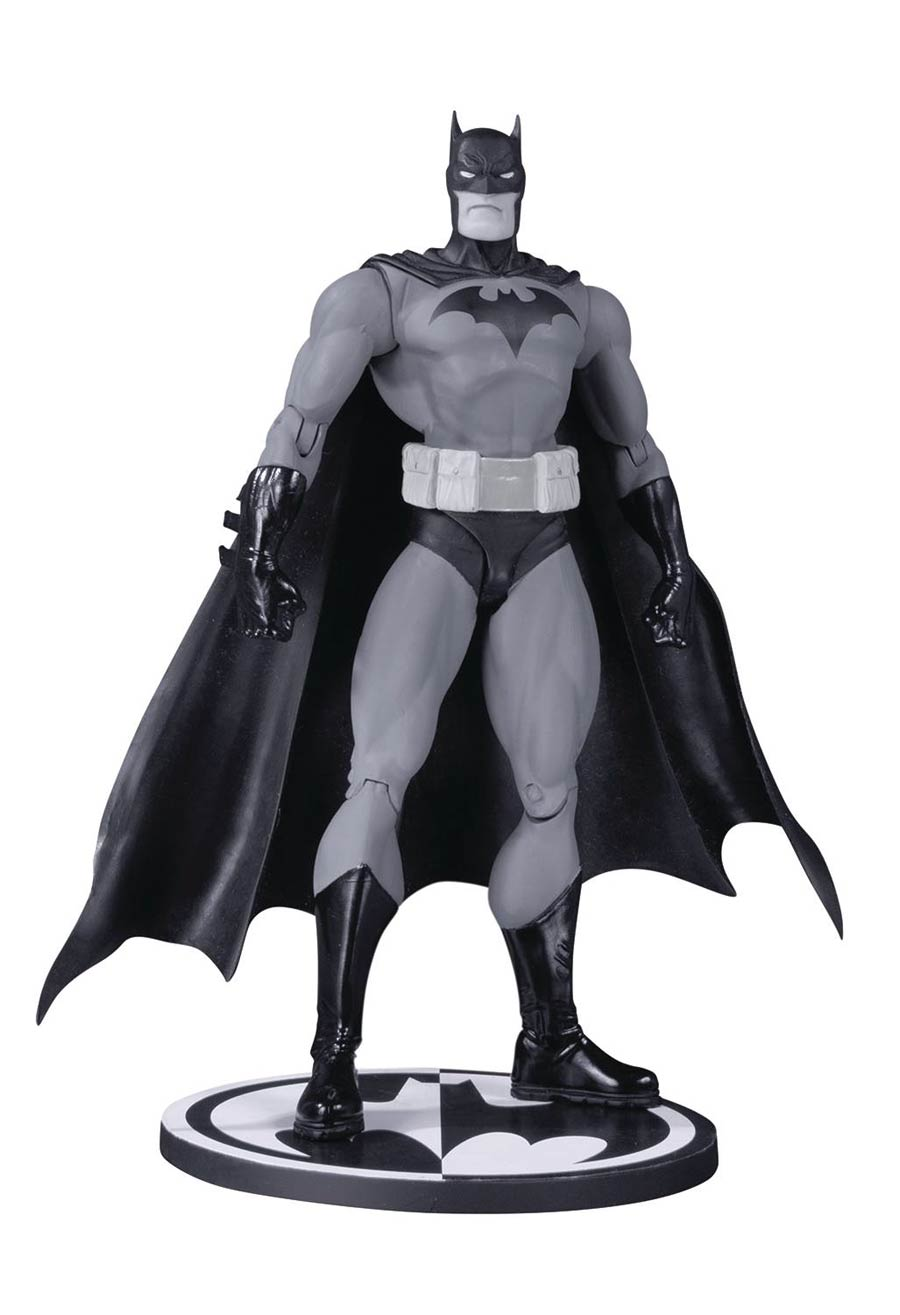 Batman Black & White Hush Batman By Jim Lee Action Figure
