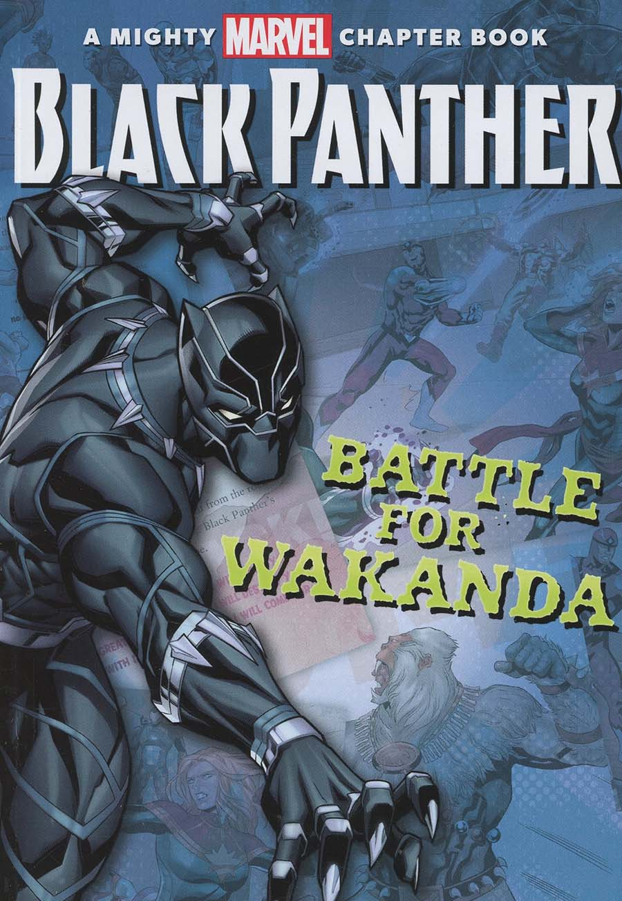 Black Panther Battle For Wakanda Chapter Book SC