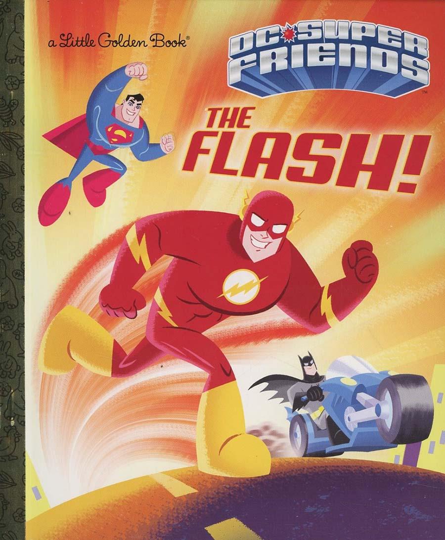 DC Super Friends Flash Little Golden Book HC