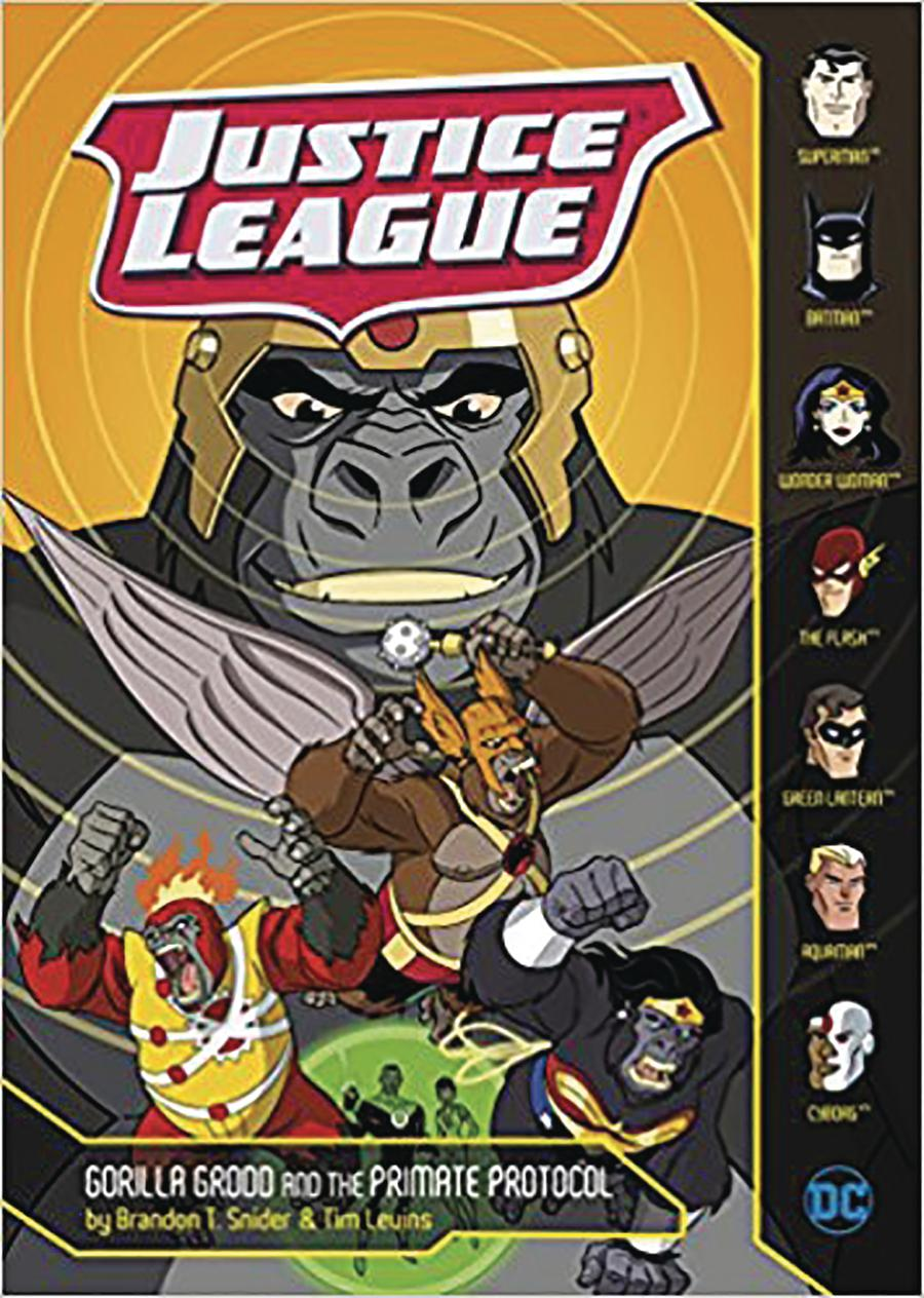 Justice League Gorilla Grodd And The Primate Protocol TP