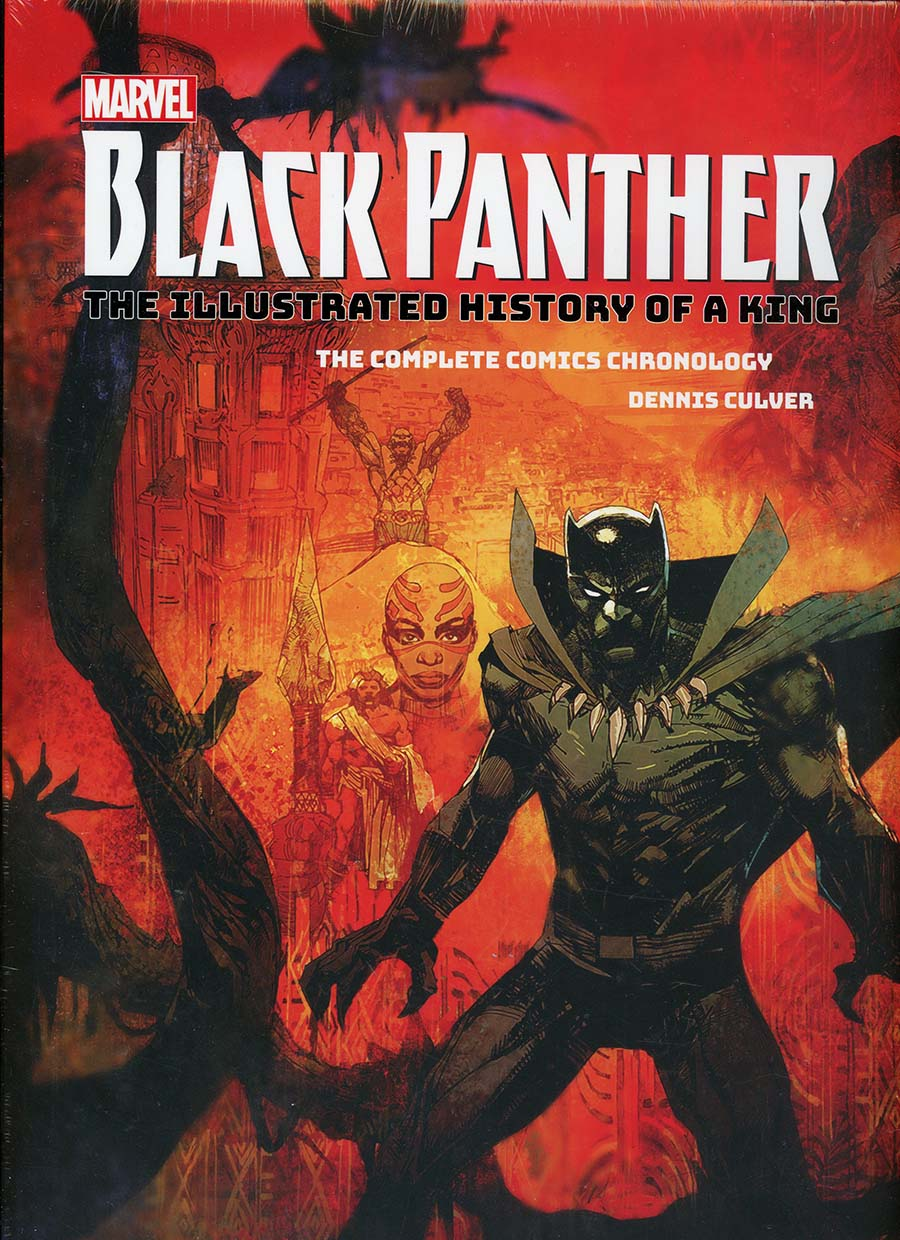Marvels Black Panther Illustrated History Of A King Complete Comics Chronology HC