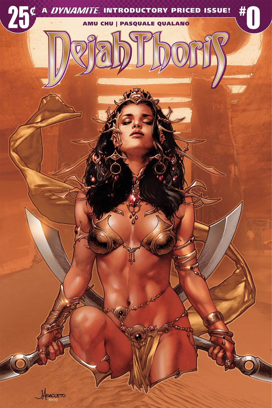 Dejah Thoris Vol 2 #0 Cover A Regular Jay Anacleto Cover