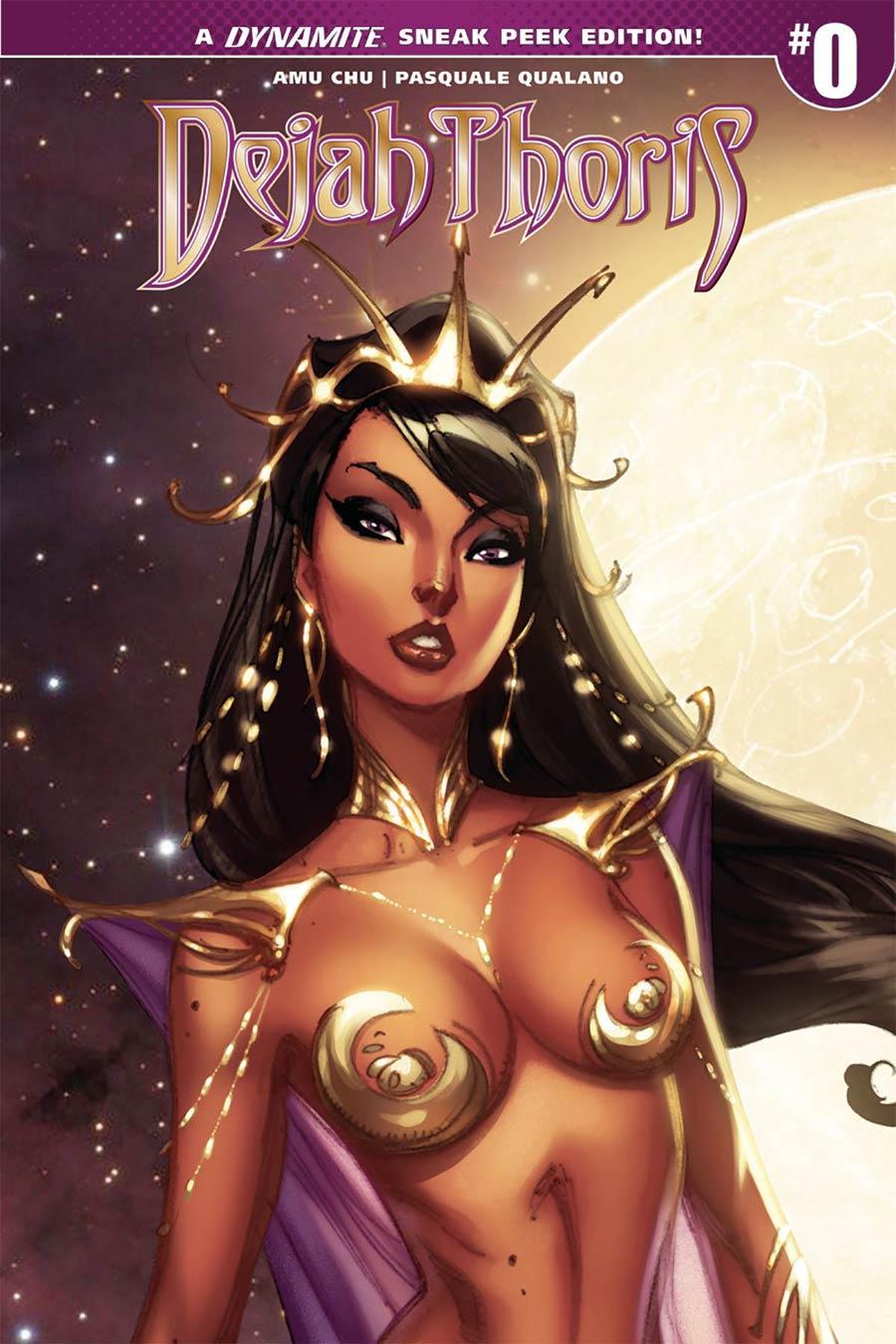 Dejah Thoris Vol 2 #0 Cover D Incentive J Scott Campbell Sneak Peek Variant Cover