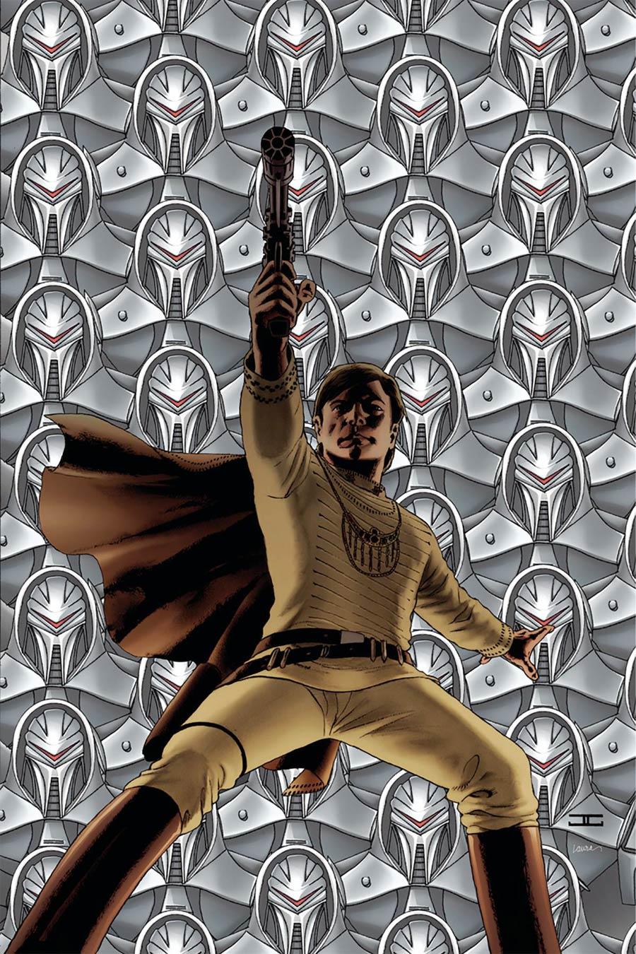 Battlestar Galactica vs Battlestar Galactica #1 Cover J Incentive John Cassaday Virgin Cover