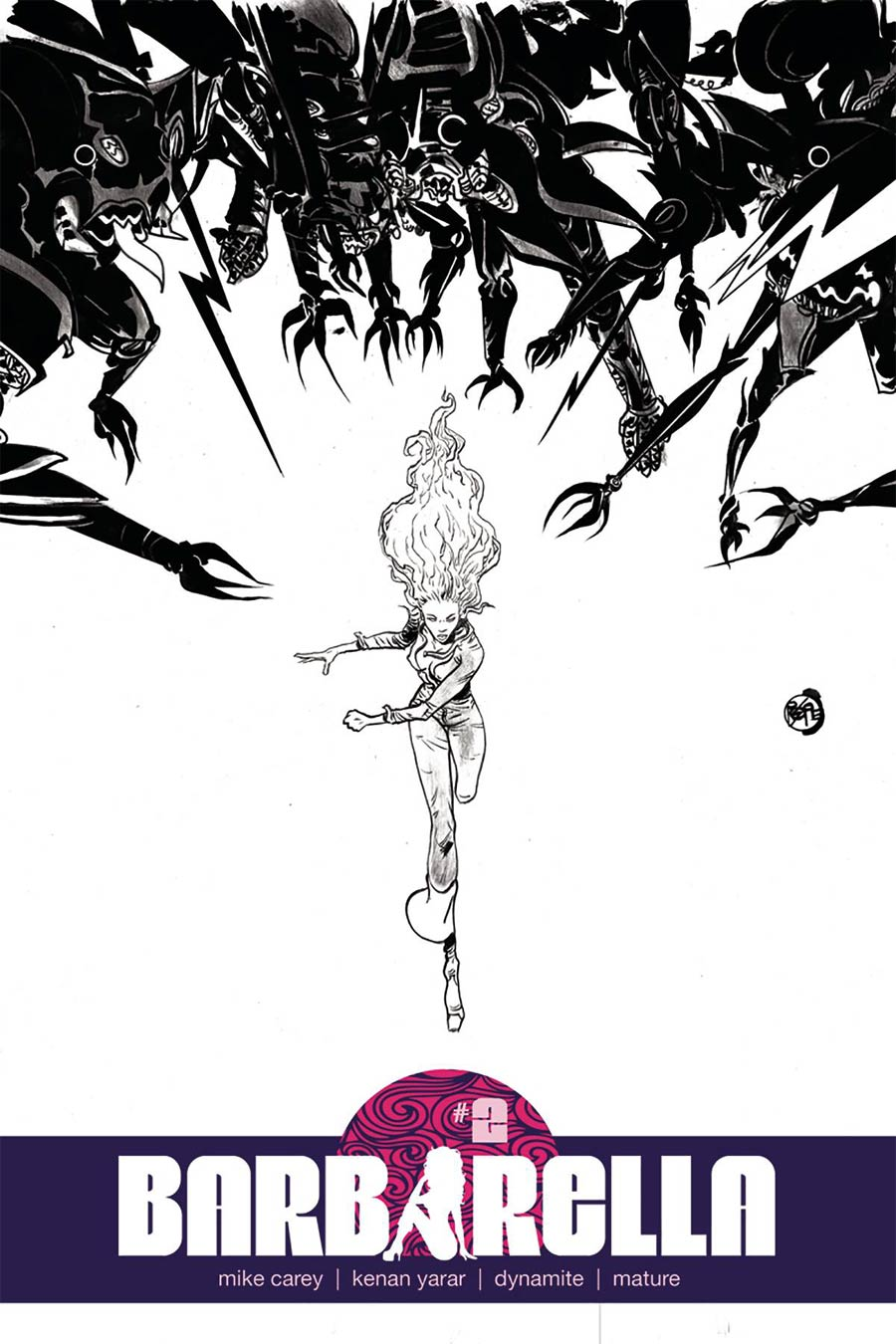 Barbarella #2 Cover G Incentive Paul Pope Black & White Cover
