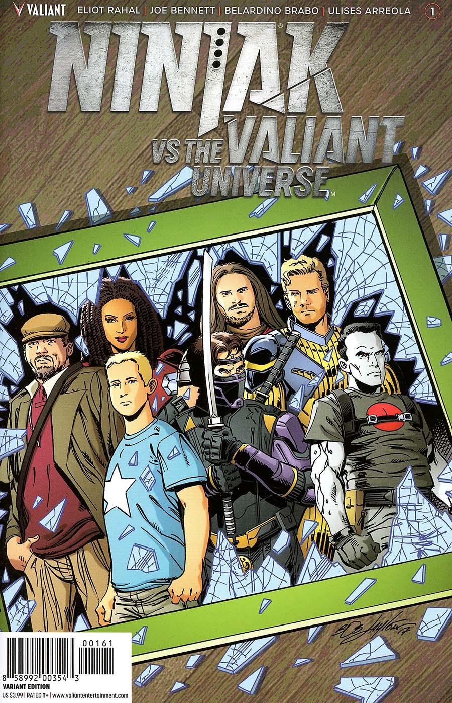 Ninjak vs The Valiant Universe #1 Cover F Incentive Bob Layton Variant Cover