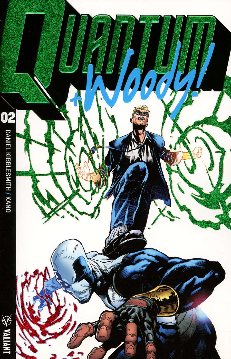 Quantum & Woody Vol 4 #2 Cover E Incentive Geoff Shaw Extreme Ultra-Foil Chase Variant Cover