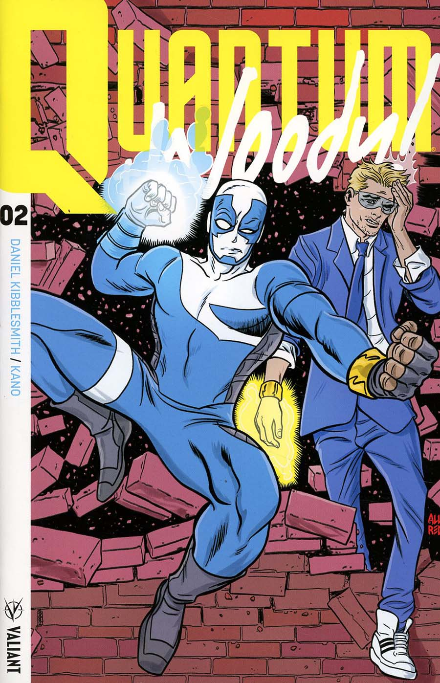 Quantum & Woody Vol 4 #2 Cover F Incentive Mike Allred Quantum & Woody Icon Variant Cover