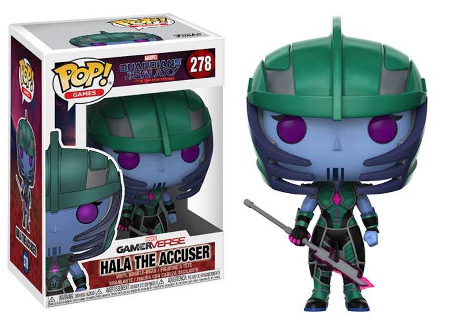 POP Games 278 Guardians Of The Galaxy The Telltale Series Hala The Accuser Vinyl Figure