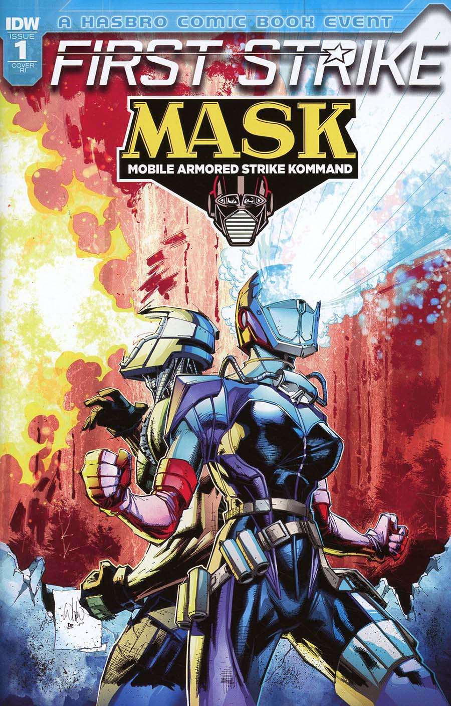 M.A.S.K. Mobile Armored Strike Kommand First Strike #1 Cover C Incentive Humberto Ramos Variant Cover