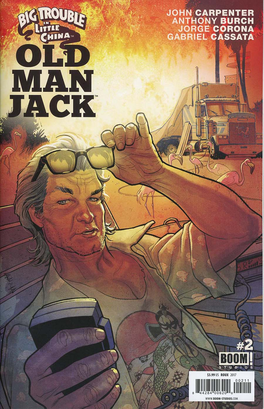Big Trouble In Little China Old Man Jack #2 Cover A Regular Stephane Roux Cover