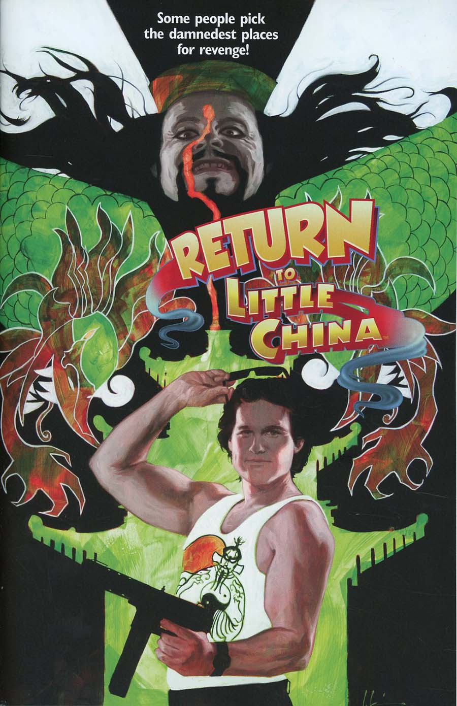 Big Trouble In Little China Old Man Jack #2 Cover B Regular Jeremy Wilson Movie Poster Cover