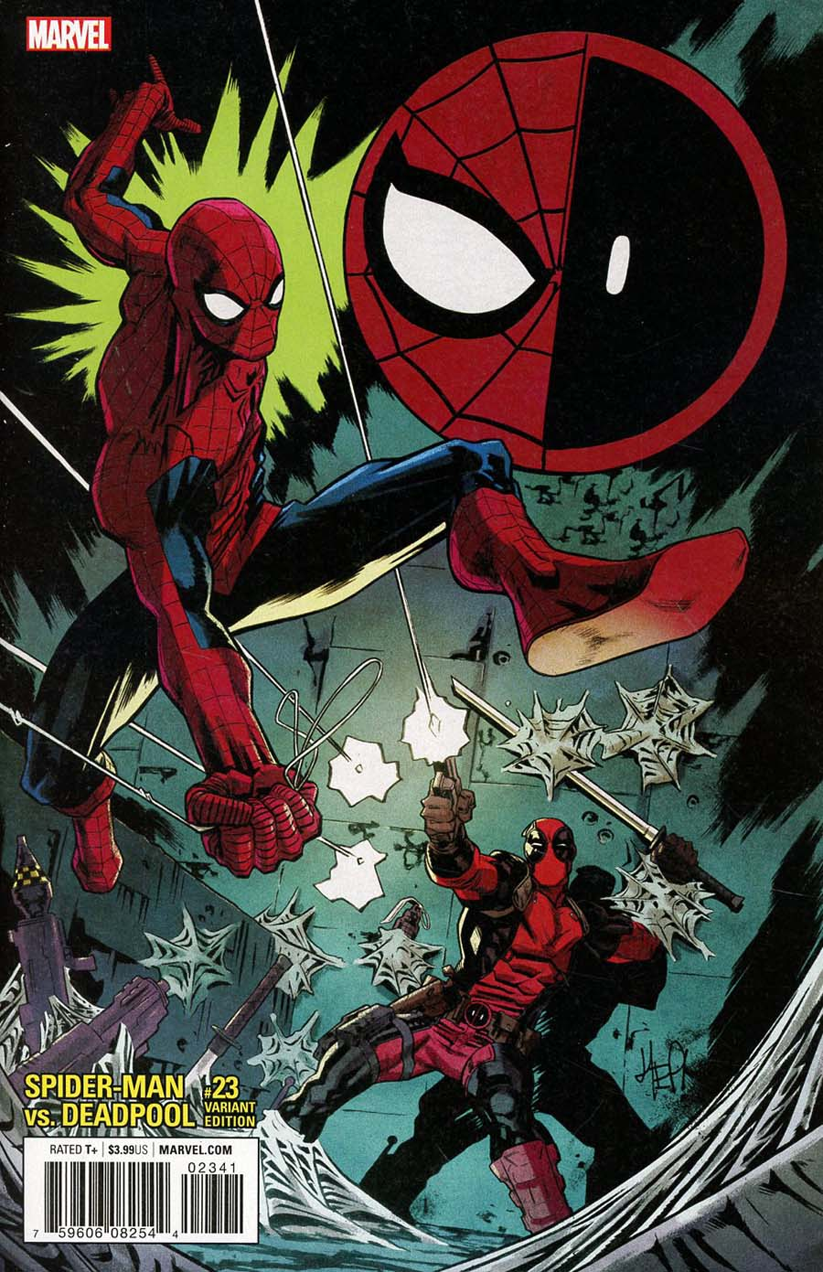 Spider-Man Deadpool #23 Cover D Incentive Scott Hepburn Variant Cover (Marvel Legacy Tie-In)