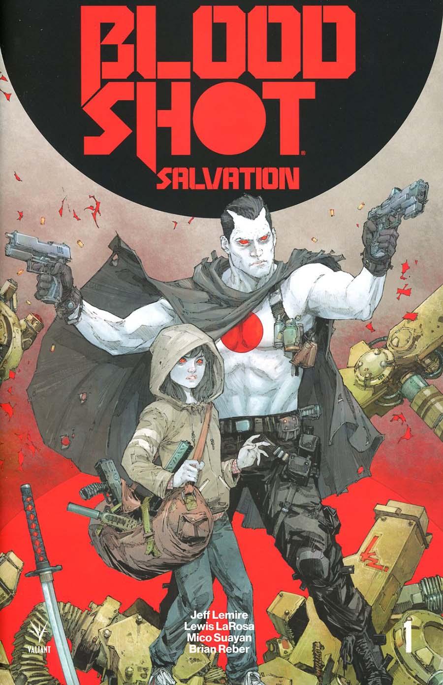Bloodshot Salvation #1 Cover H 2nd Ptg Variant Kenneth Rocafort Cover