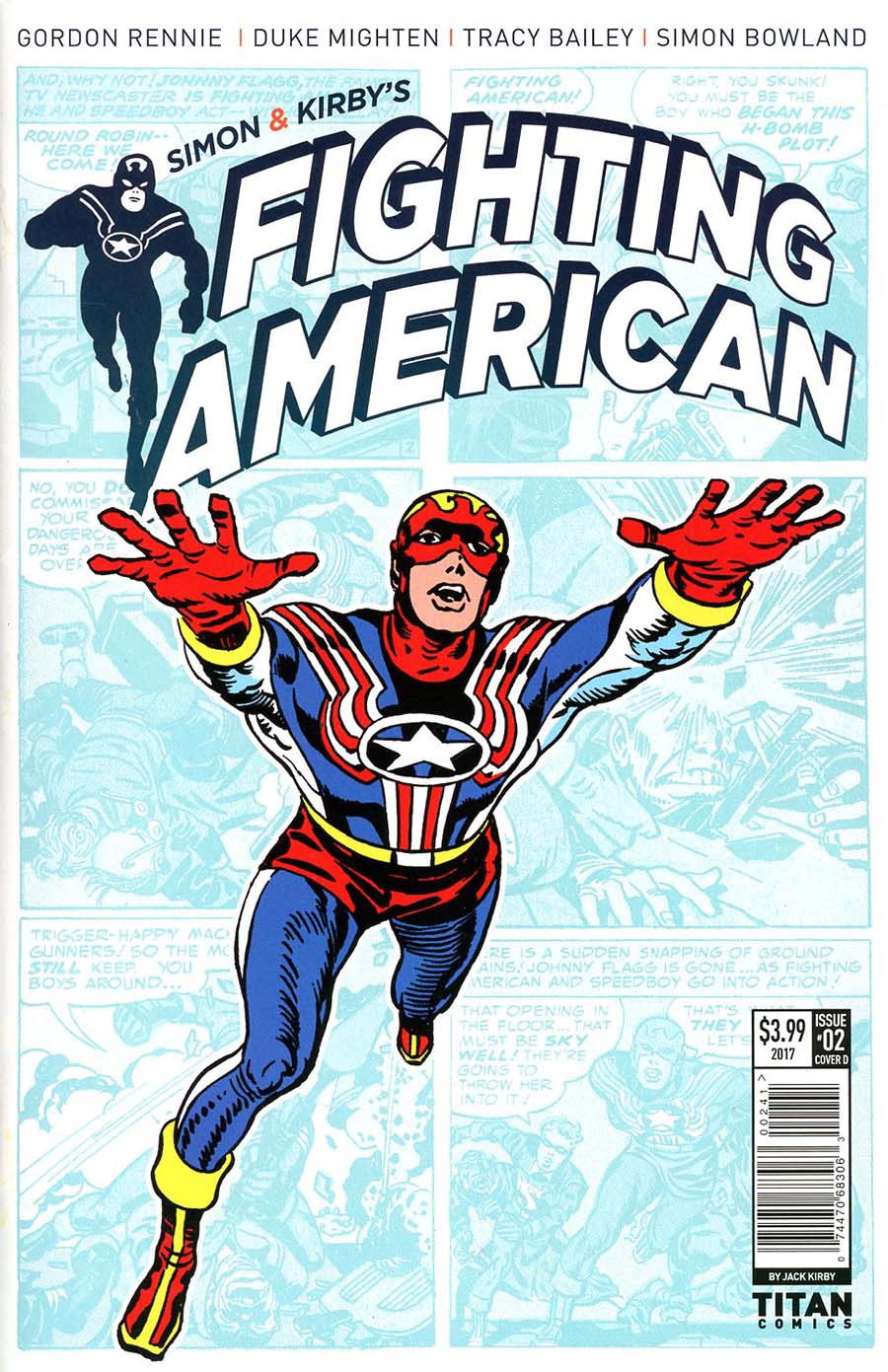 Fighting American Vol 4 #2 Cover D Variant Jack Kirby Cover