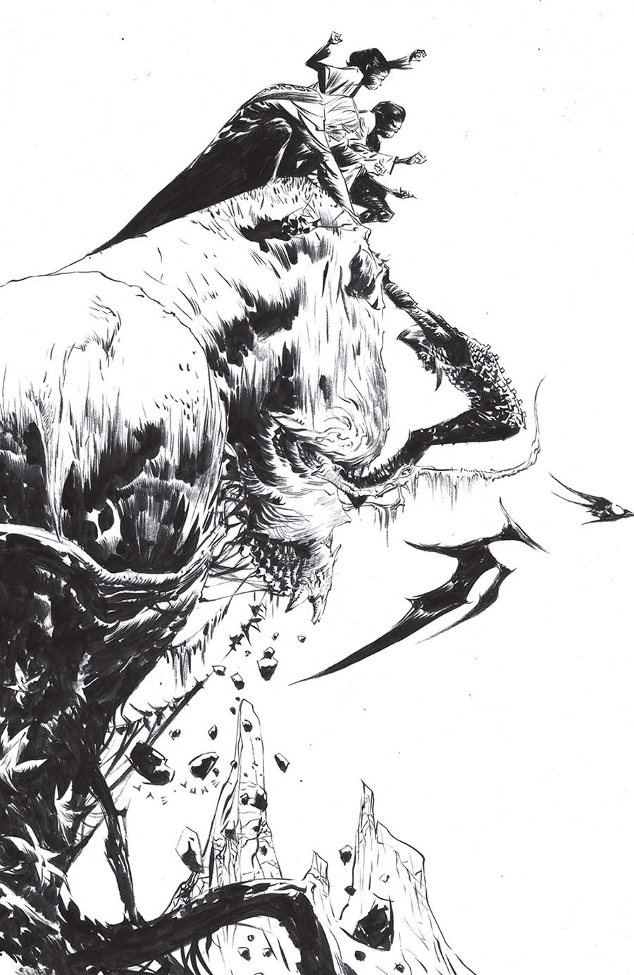 Kong On The Planet Of The Apes #1 Cover E Incentive Jae Lee & June Chung Virgin Variant Cover