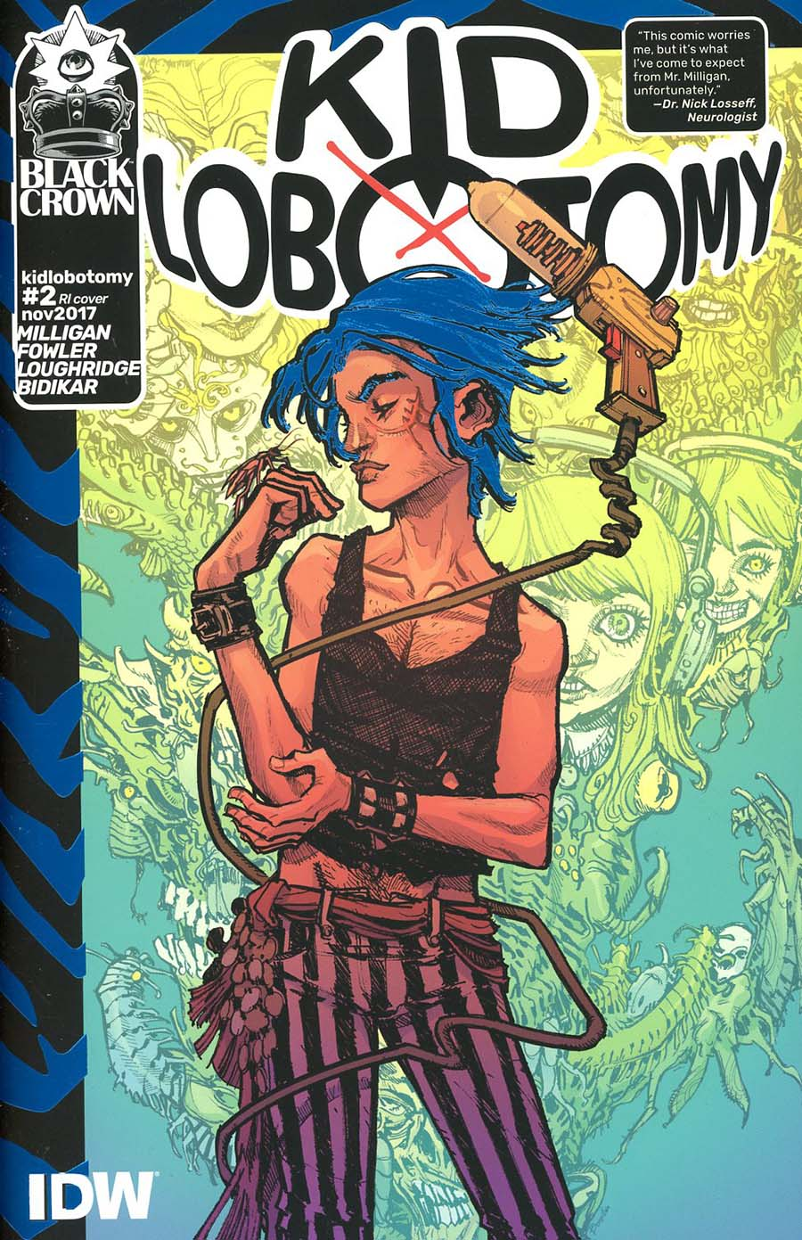 Kid Lobotomy #2 Cover C Incentive Eric Canete Variant Cover