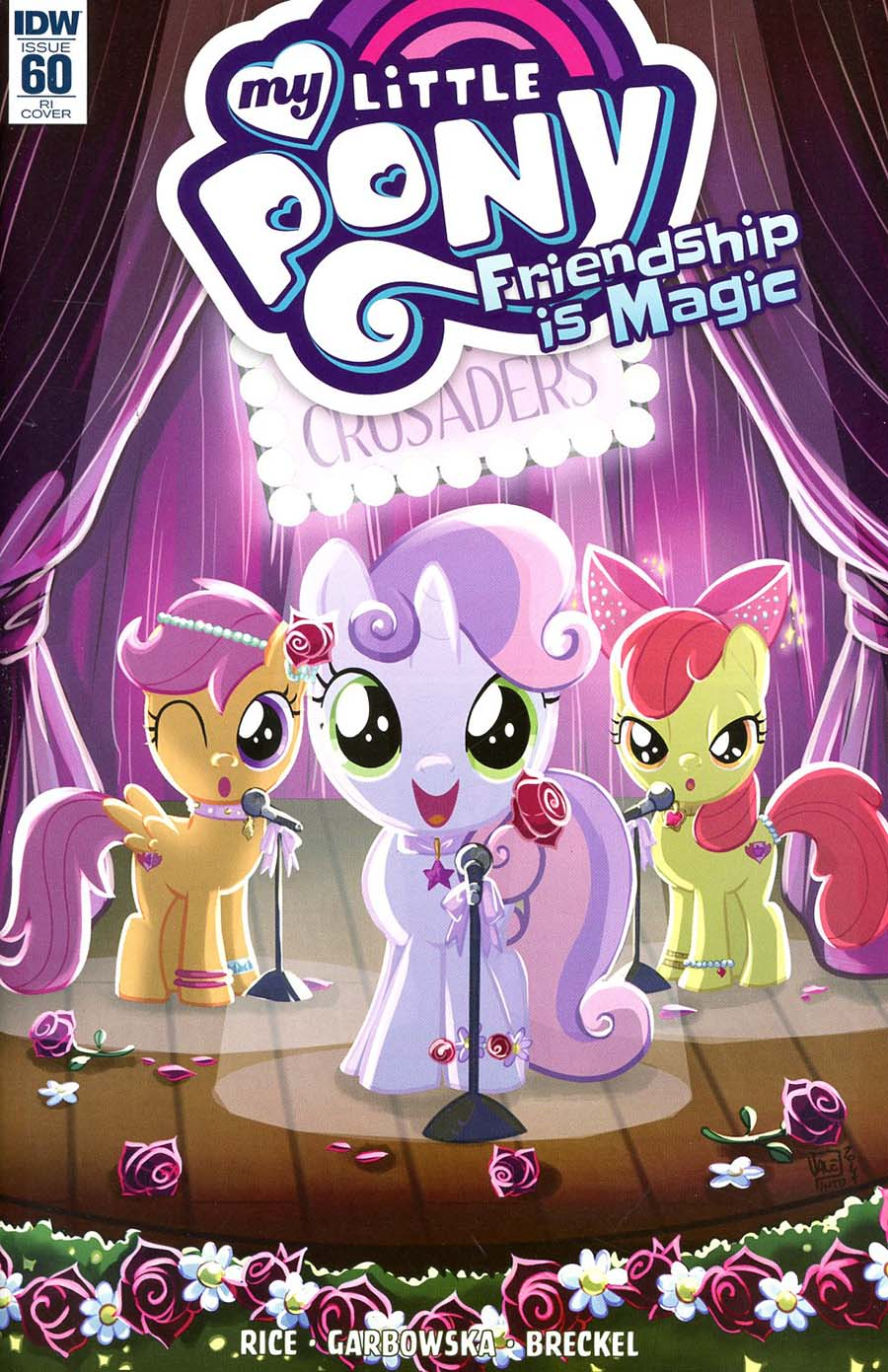 My Little Pony Friendship Is Magic #60 Cover C Incentive Valentina Pinto Variant Cover