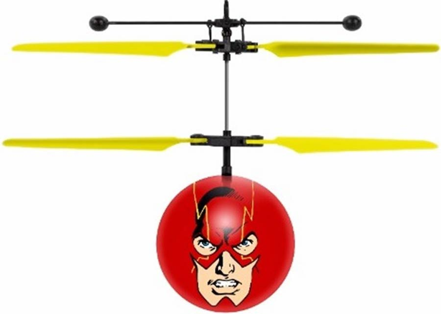DC Comics Justice League Flash IR UFO Ball Helicopter
