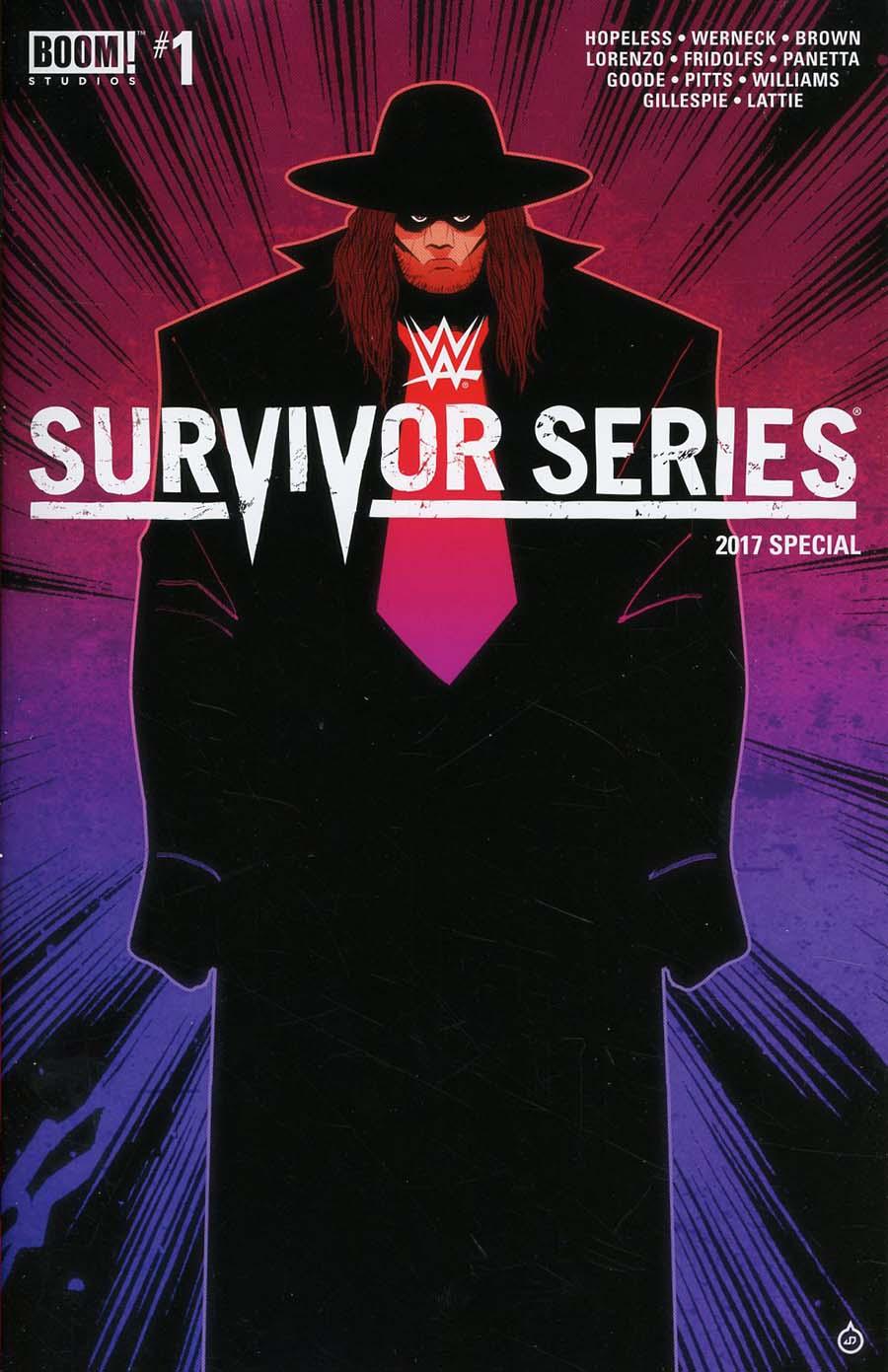 WWE Survivor Series 2017 Special #1 Cover B Variant Juan Doe Cover