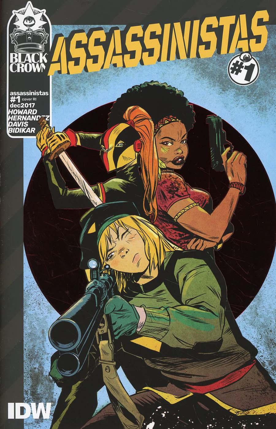 Assassinistas #1 Cover C Incentive Sanford Greene Variant Cover