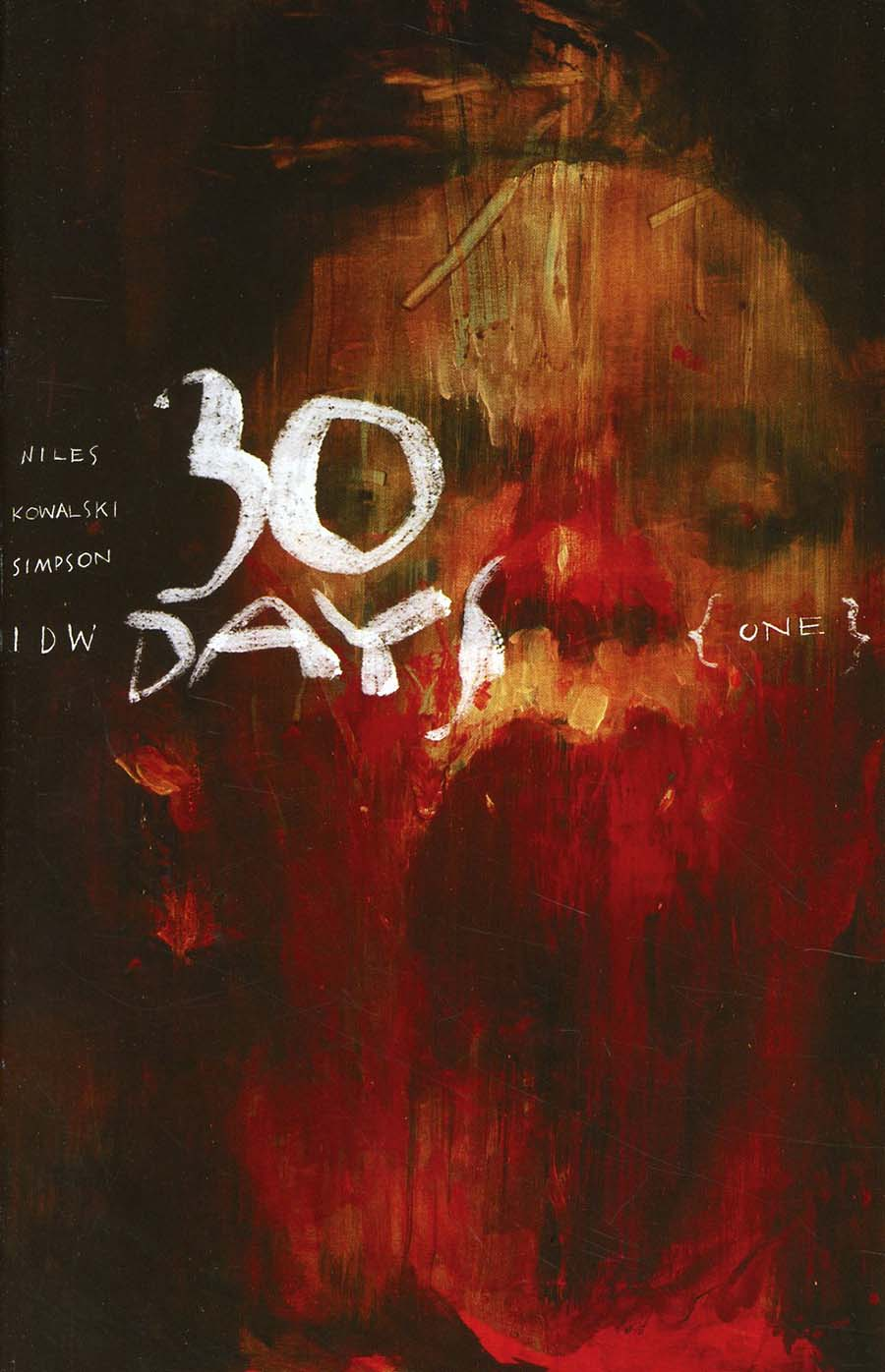 30 Days Of Night Vol 3 #1 Cover C Incentive Ashley Wood Variant Cover