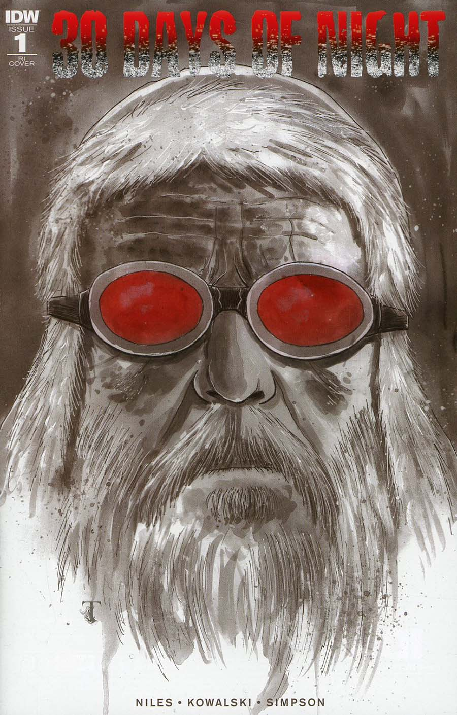 30 Days Of Night Vol 3 #1 Cover D Incentive Ben Templesmith Variant Cover