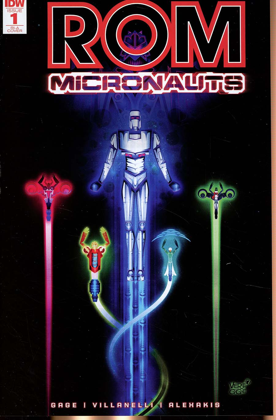 ROM And The Micronauts #1 Cover C Incentive Jeffrey Veregge Variant Cover