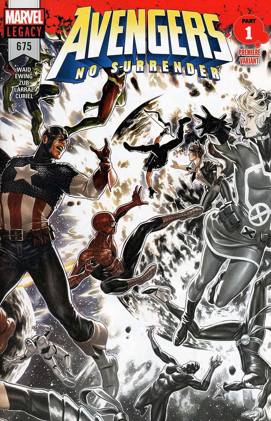 Avengers Vol 6 #675 Cover I Incentive Premiere Variant Cover (No Surrender Part 1)(Marvel Legacy Tie-In)