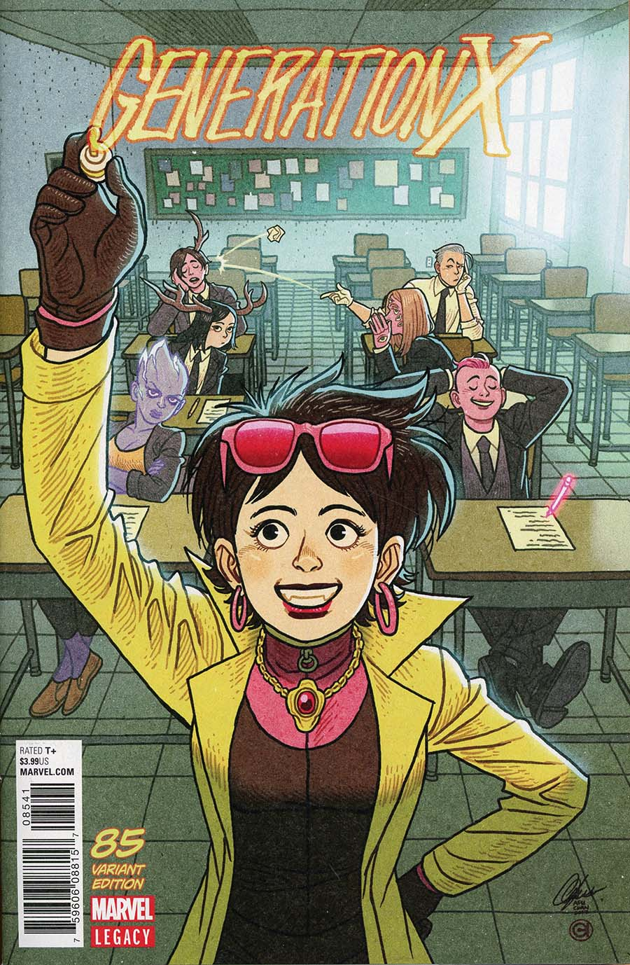 Generation X Vol 2 #85 Cover D Incentive Afu Chan Variant Cover (Marvel Legacy Tie-In)